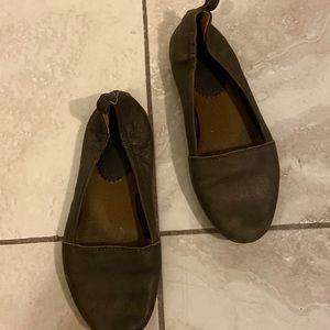 ❤️5for25$❤️ Antropologie Latigo leather flats 7,5
